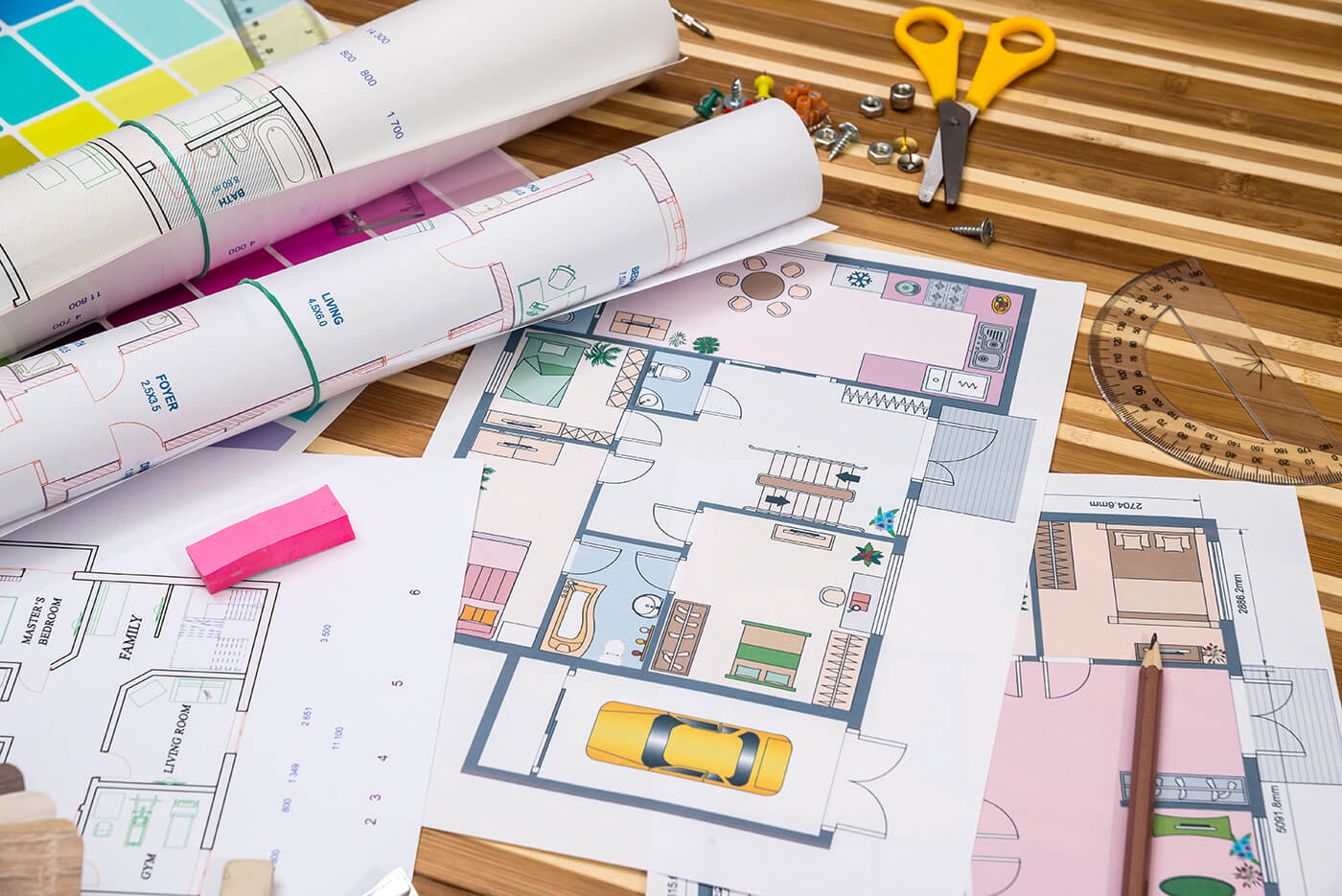 architectural drawings custom homes