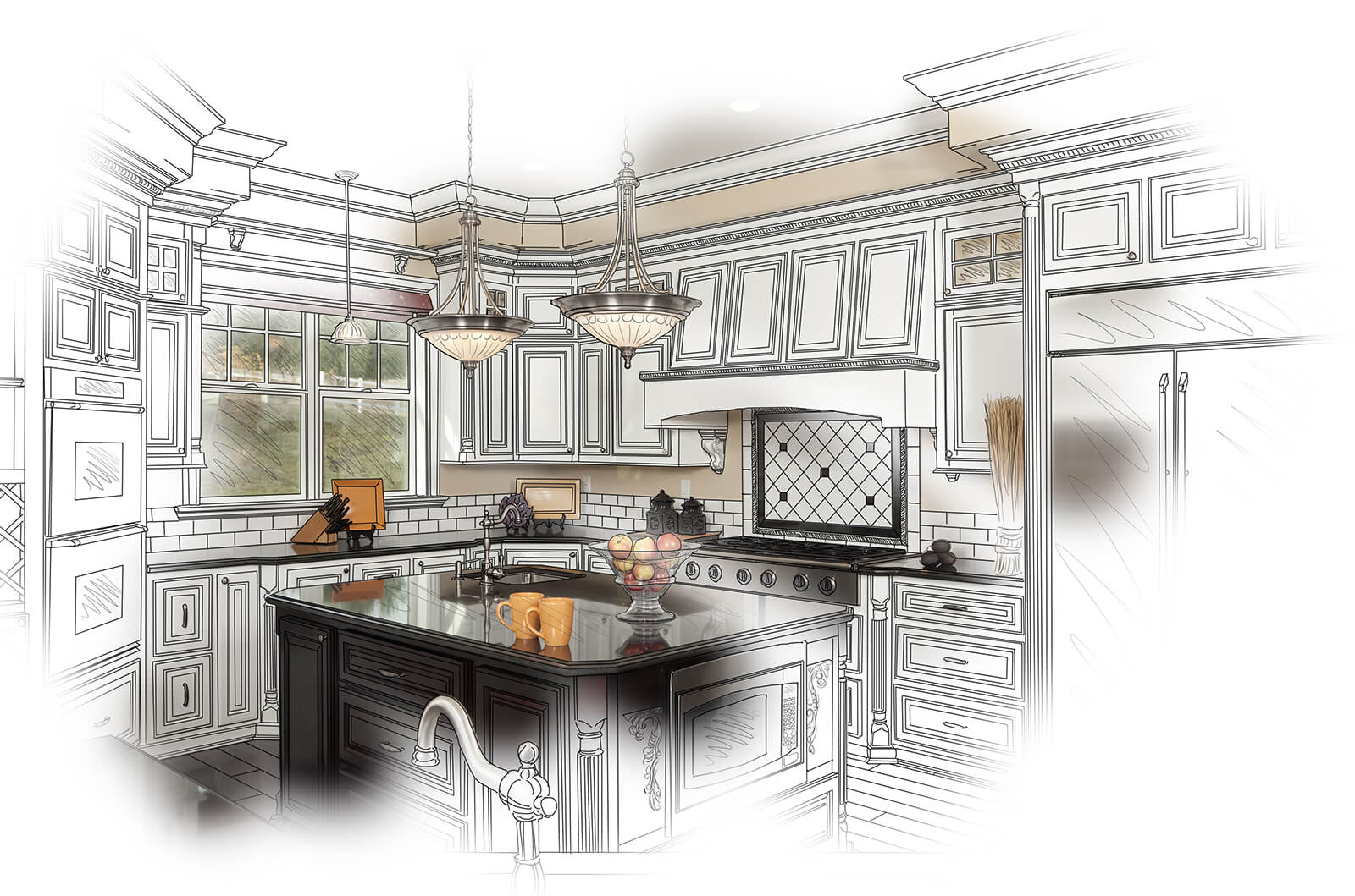 custom design kitchen renovation