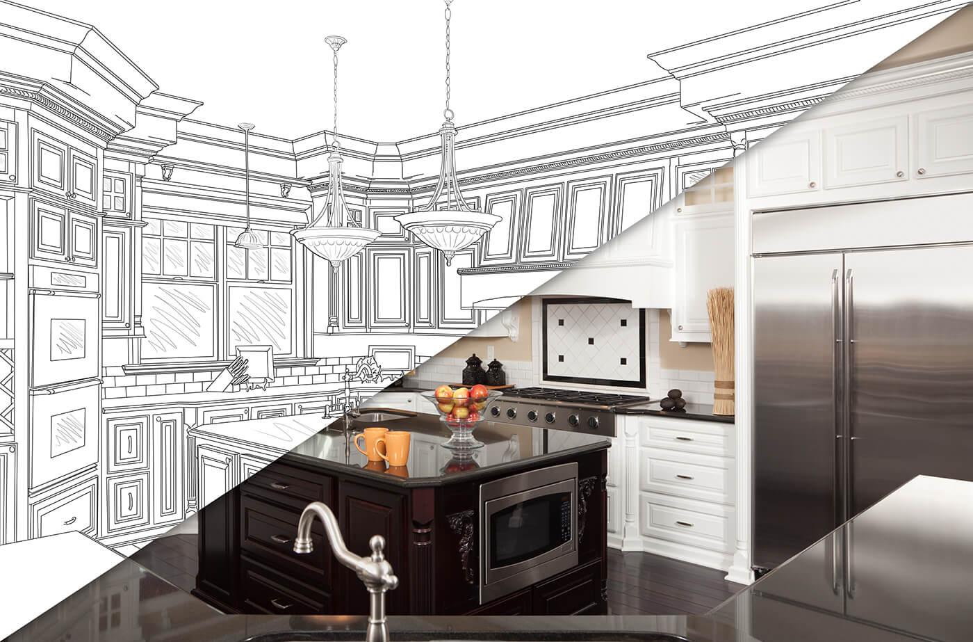 kitchen renovation come to life